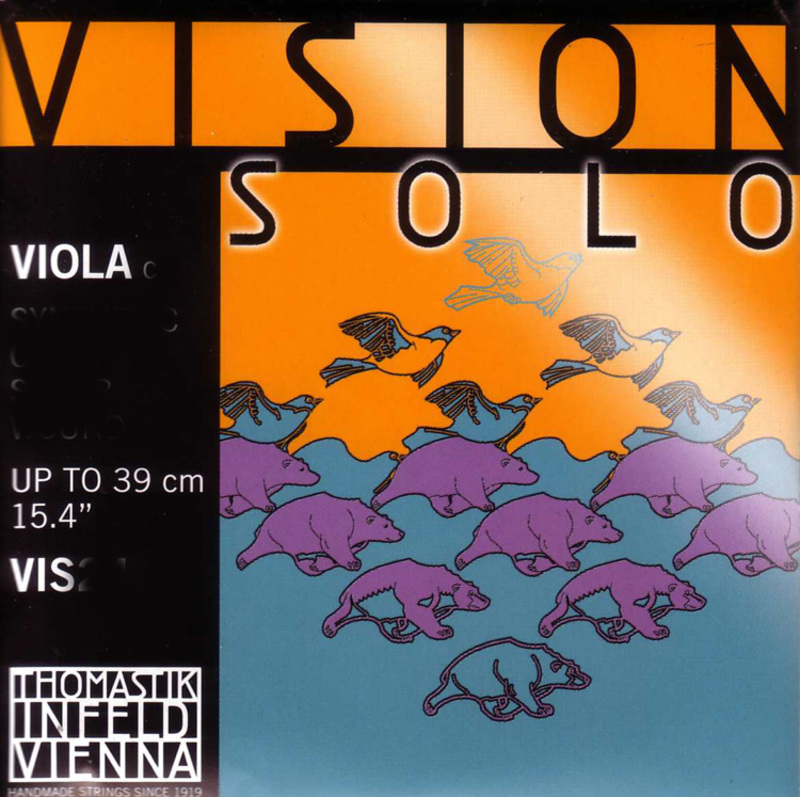 Image of Thomastik Vision Solo Viola Strings, SET