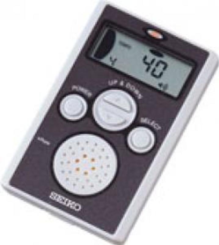 Image of Seiko DM70 digital metronome