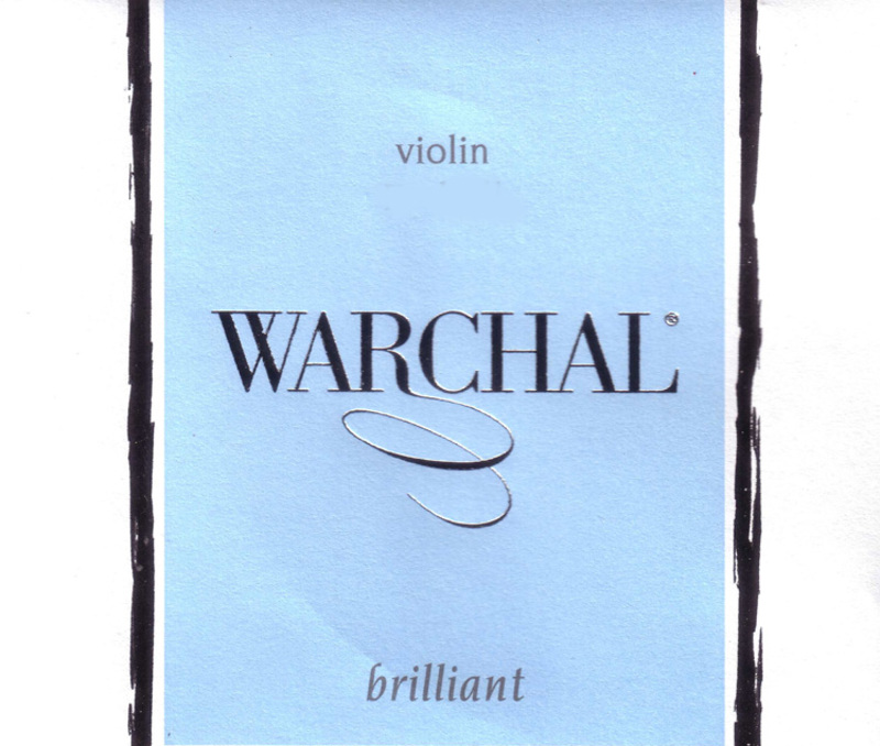 Image of Warchal Brilliant Violin Strings, Set