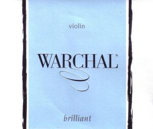 Warchal Brilliant Violin Strings, Set