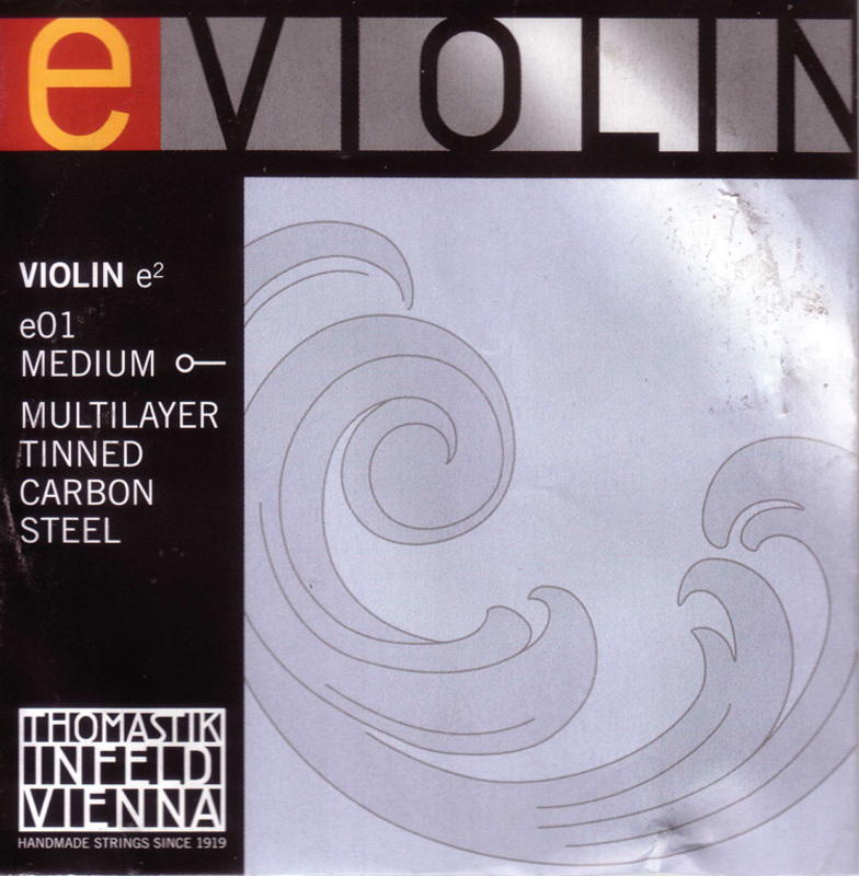 Image of Thomastik Special Programme Violin String, E Steel