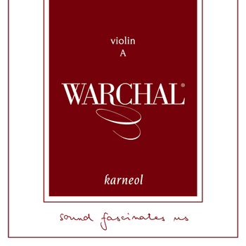 Image of Warchal Karneol Violin Strings, SET