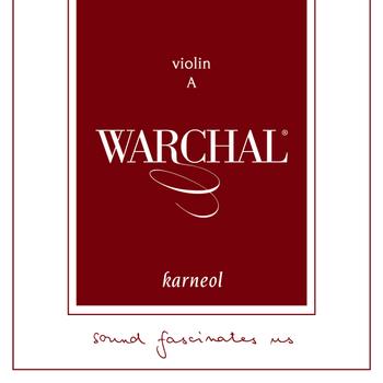 Image of Warchal Karneol Violin Strings, Set