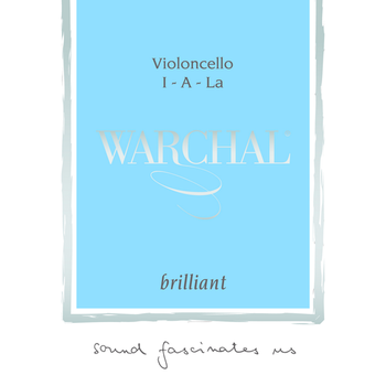 Image of Warchal Brilliant Cello String, A
