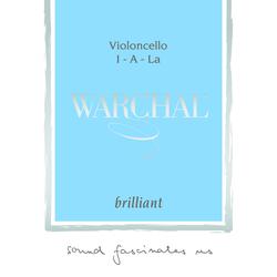 Warchal Brilliant Cello String, A