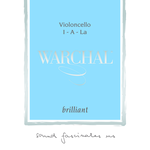 Warchal Brilliant Cello Strings, SET