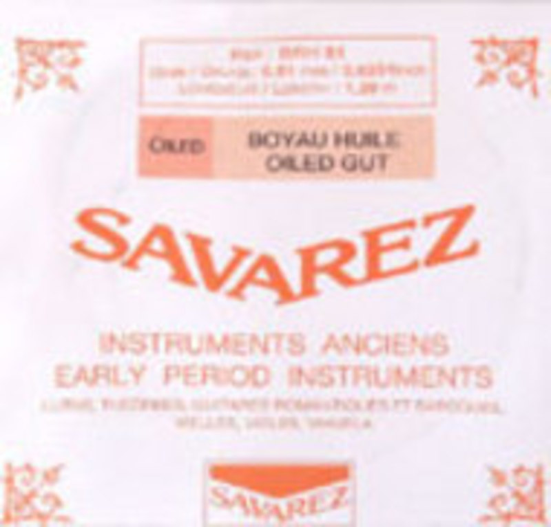 Image of Baroque viola strings by Savarez. SET