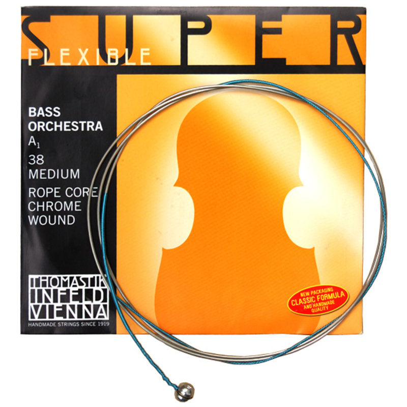 Image of Thomastik Superflexible Double Bass String, C (E extension)