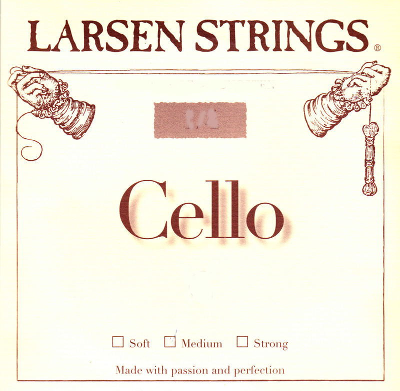 Image of Larsen Cello Strings. Small sizes, SET