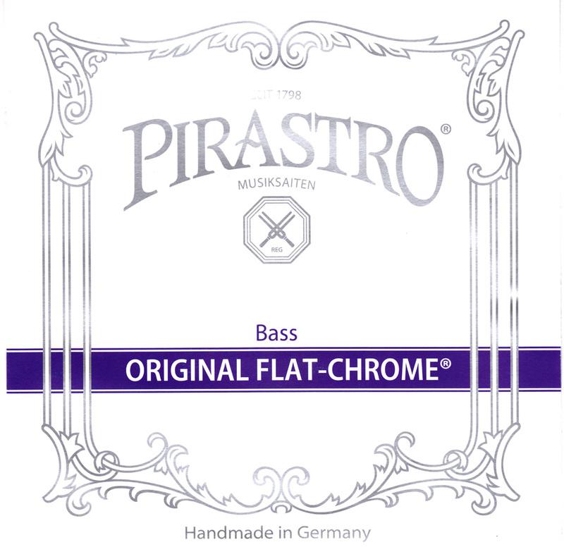 Image of Pirastro Original Flat-Chrome Double Bass String, E 2.1m
