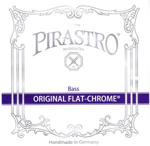 Pirastro Original Flat-Chrome Double Bass String, D