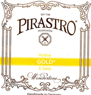 Pirastro Gold Violin String, E
