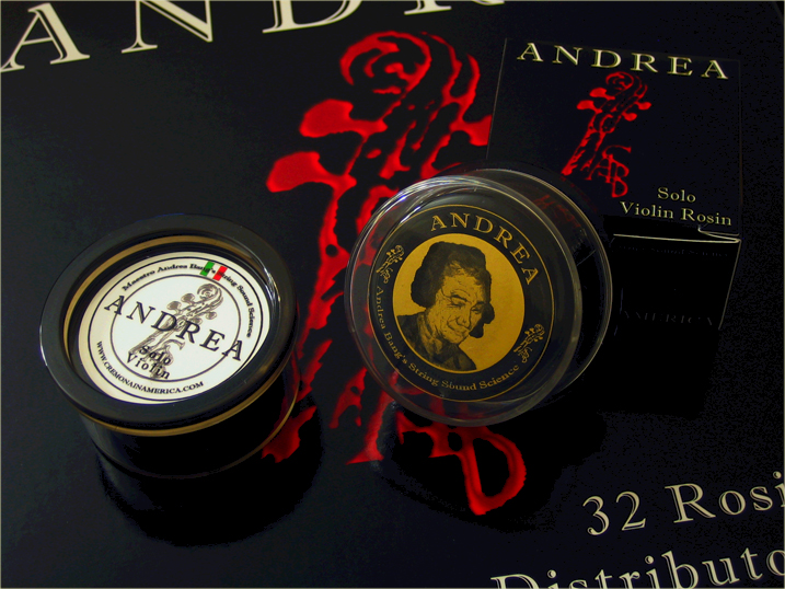 NEW Andrea Cello ROSIN Solo Is Now Available Again !!