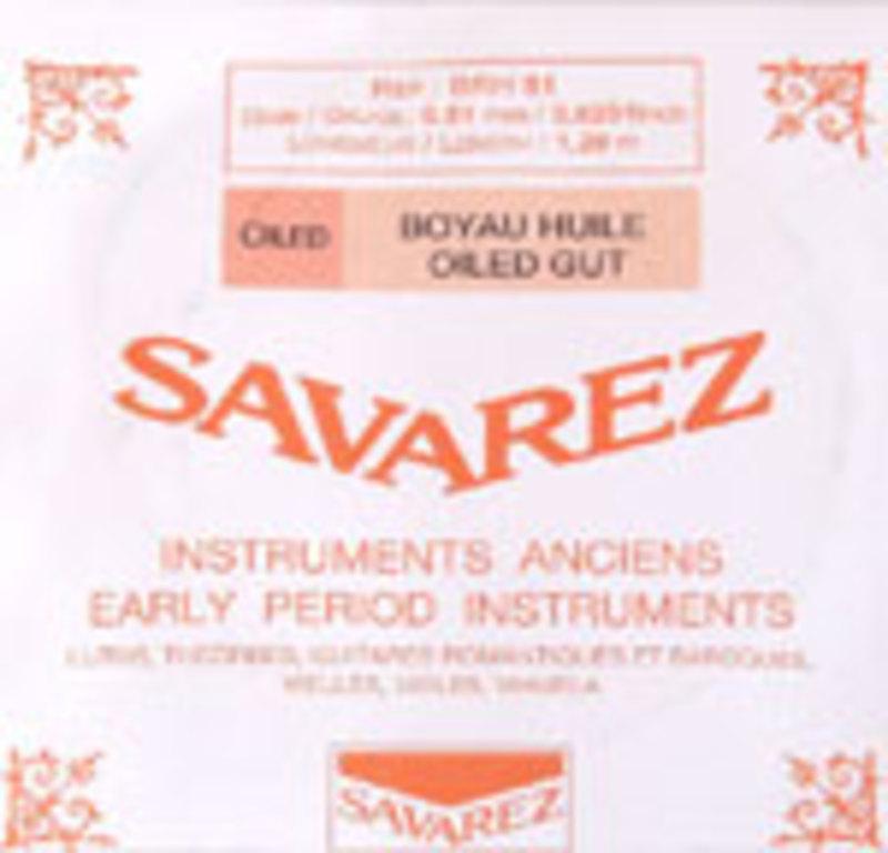 Image of Baroque Violin strings by Savarez, France. SET