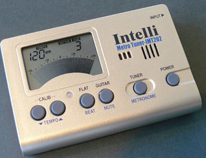 Intelli IMT202 Digital Tuner & Metronome