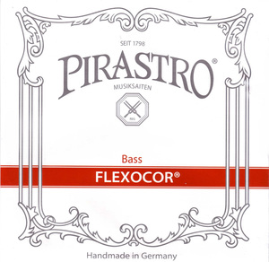 Pirastro Flexocor Double Bass strings. SET