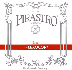 Pirastro Flexocor Double Bass String, E Extension, 2.10M