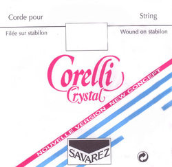 Corelli Crystal Violin String, D