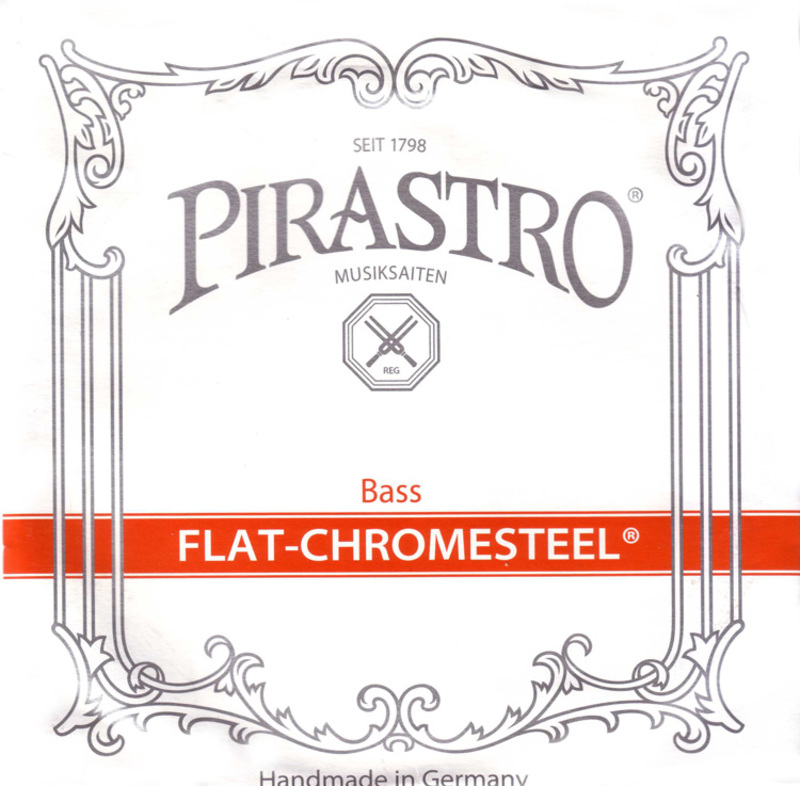 Image of Pirastro Flat-Chromesteel Double Bass Strings, SET.