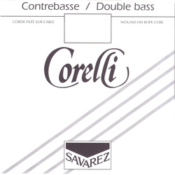 Corelli Double Bass Strings Set. Solo Tuning