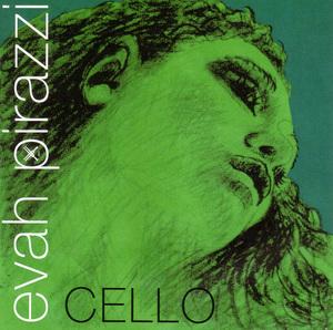 Evah Pirazzi Soloist Cello Strings. Set
