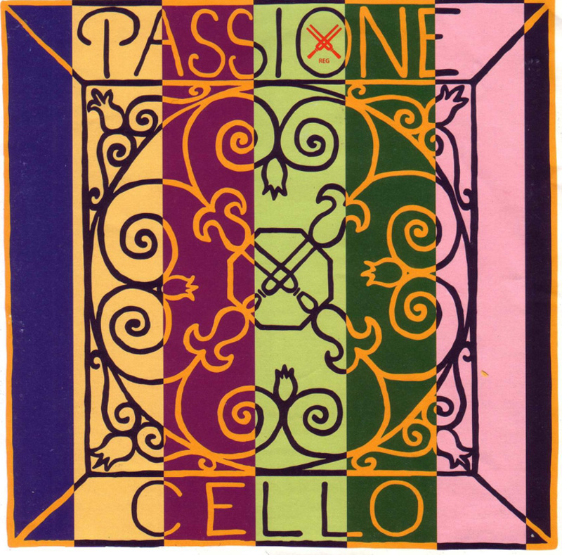 Image of Pirastro Passione Cello String, A
