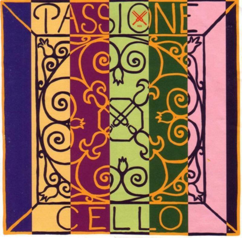 Image of Pirastro Passione Cello Strings, SET