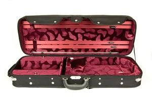 Wooden Oblong Viola Case by Hidersine