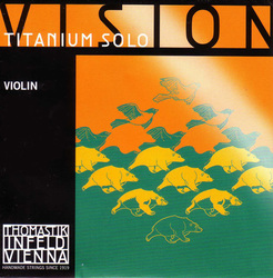 Vision Titanium Solo Violin Strings, SET