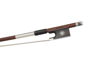 Nickel Mounted Violin Bow by Erwin Mahler