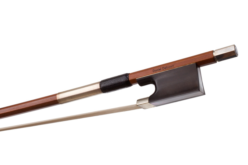 Image of Nickel Mounted Cello Bow by Daniel Delcourt
