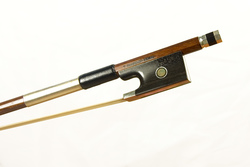 Silver Mounted Violin Bow by T Pampolin, Brazil