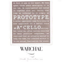 Warchal Prototype Cello String, A
