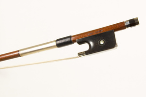 Nickel Mounted Cello bow by Marco Raposo, Brasil