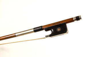 Silver Mounted Cello Bow by Marco Raposo, Brasil