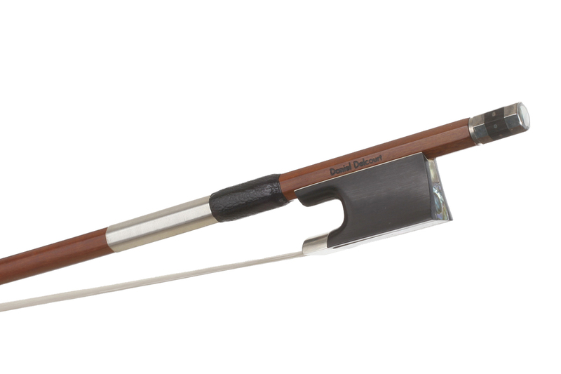 Image of Nickel Mounted Violin Bow By Daniel Delcourt