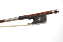 Nickel Mounted Cello Bow by A. Carvalho