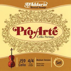 Pro arte cello strings cropped