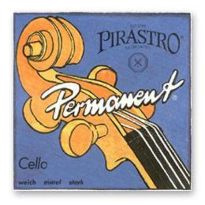 Image of Pirastro Permanent Soloist Cello Strings. Set