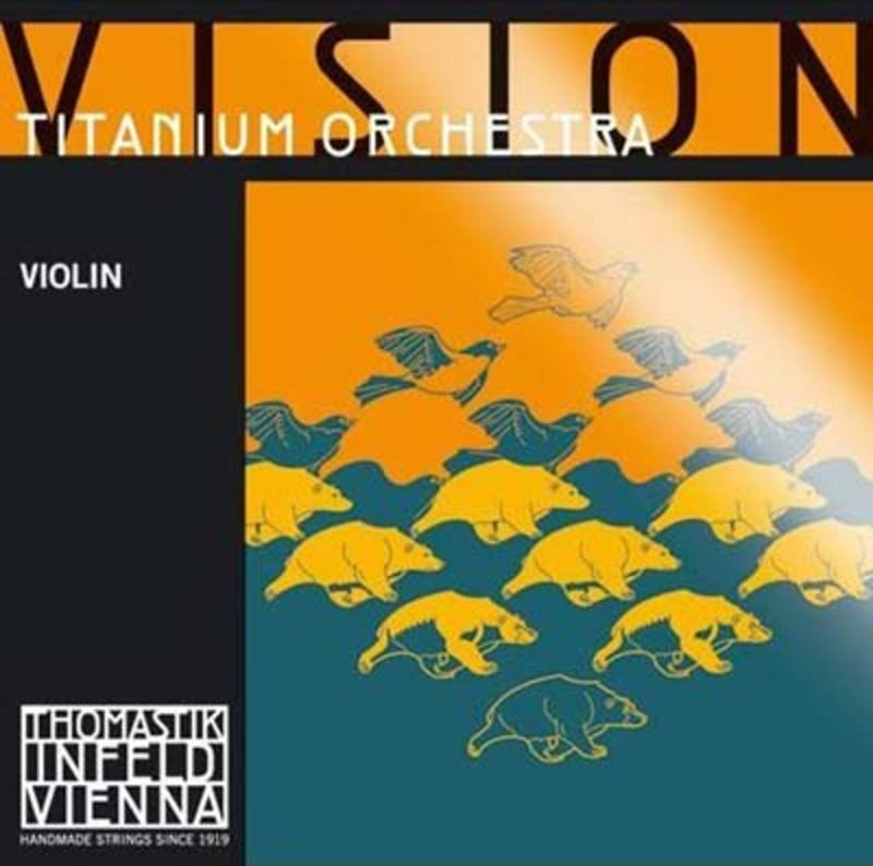 Image of Vision Titanium Orchestra Violin Strings, SET