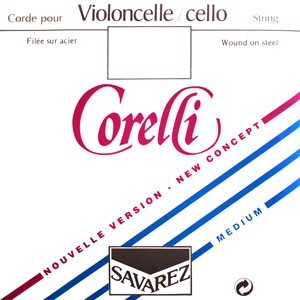 Corelli New Concept Cello Strings, SET