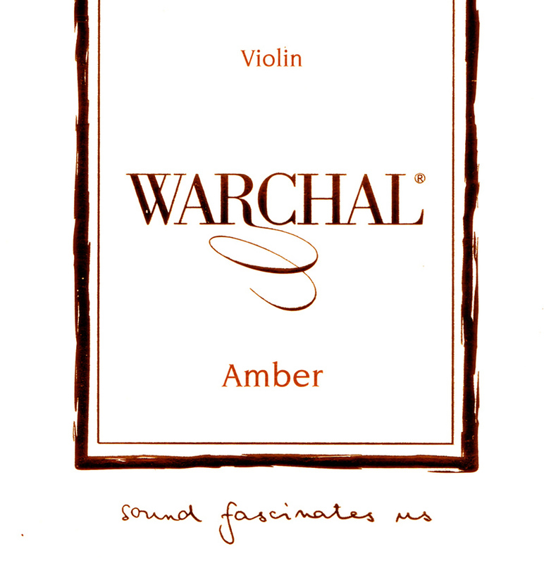 Image of Warchal Amber Violin String, D