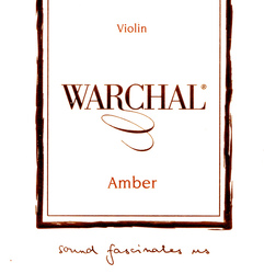 Warchal Amber Violin Strings, Set
