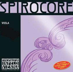 Thomastik Spirocore Viola String, D Chromesteel