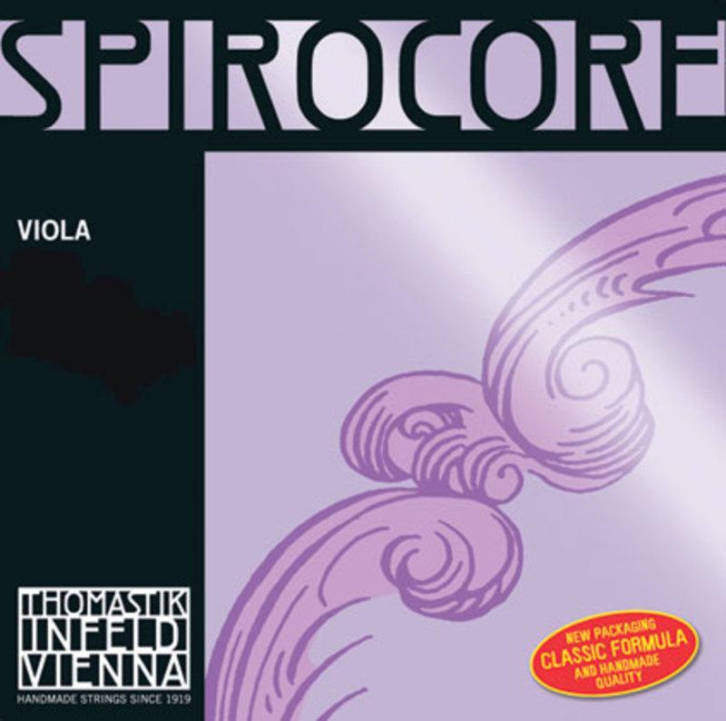 Image of Thomastik Spirocore viola string, D, Aluminium