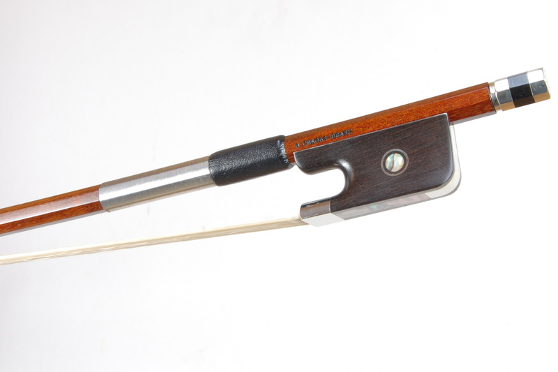 Image of Nickel Mounted Cello Bow by D Chagas, Brasil