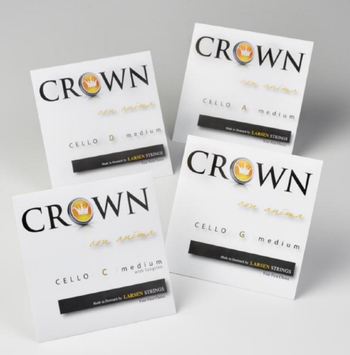 Image of Larsen Crown Cello Strings, Set