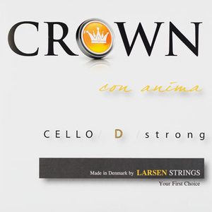 Larsen Crown cello string, D