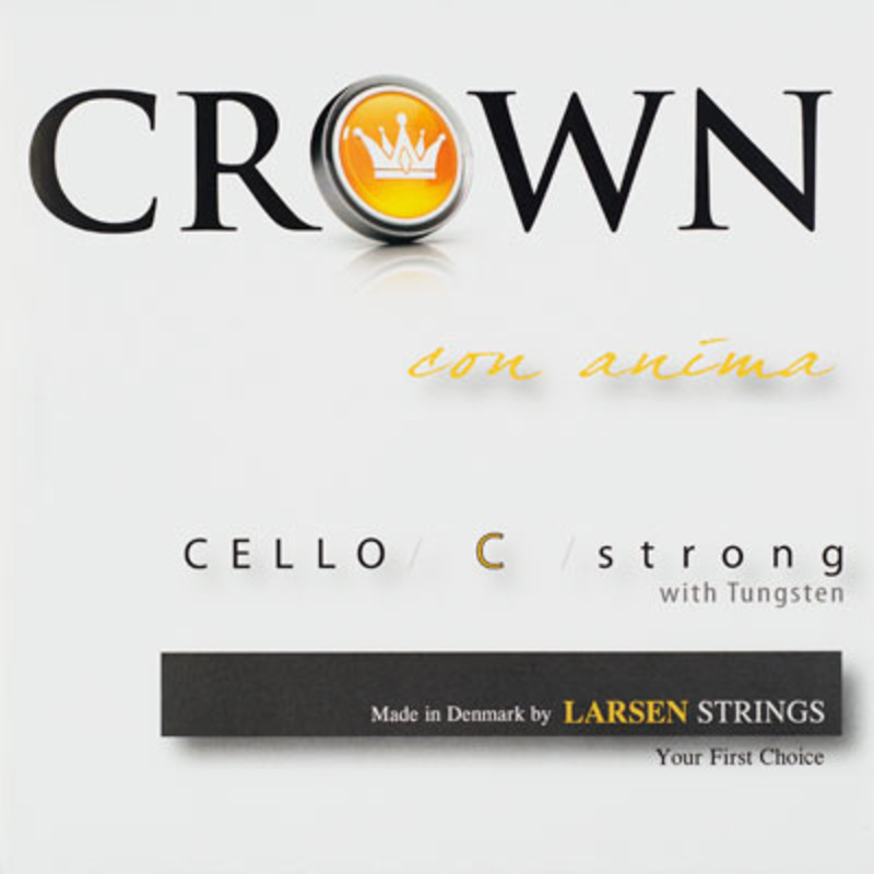 Image of Larsen Crown cello string, C