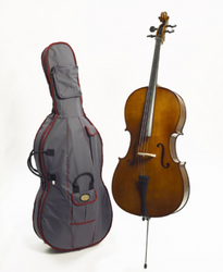 Stentor Student II Cello Outfit + Prelude Strings